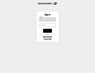 dfi.digimarc.com screenshot
