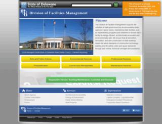 dfm.delaware.gov screenshot