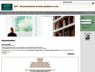 dfp.aib.it screenshot