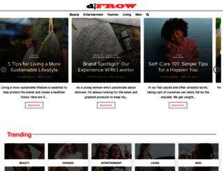 dfrow.com screenshot