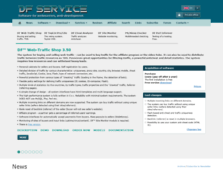 dfservice.com screenshot