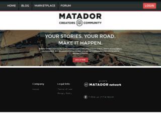 dfugazzotto.matadoru.com screenshot