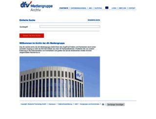 dfv-archiv.de screenshot