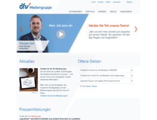 dfv.de screenshot