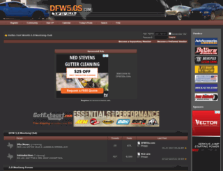 dfw50s.com screenshot