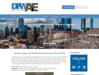 dfwae.org screenshot