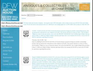 dfwauctionhouse.com screenshot