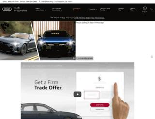 dfwaudi.com screenshot
