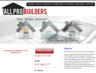 dfwcontractor.com screenshot