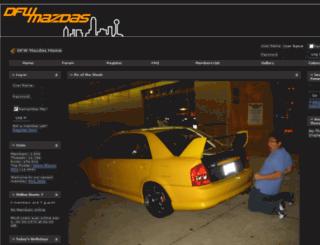 dfwmazdas.com screenshot