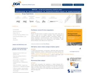 dga.com.pl screenshot