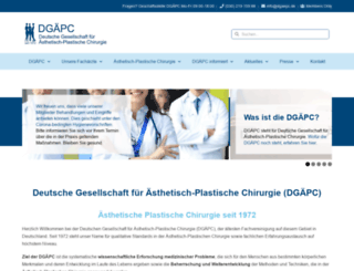 dgaepc.de screenshot