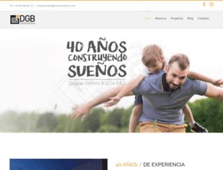 dgbconstructora.com screenshot