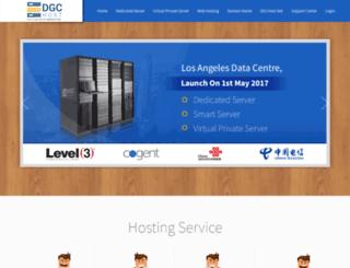 dgchost.net screenshot
