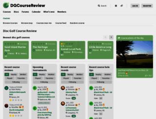 dgcoursereview.com screenshot