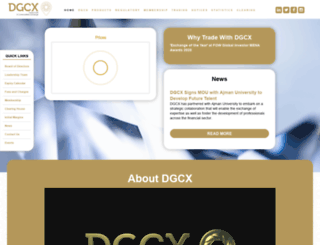 dgcx.ae screenshot