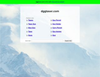 dggtaser.com screenshot