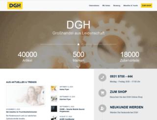 dgh.de screenshot