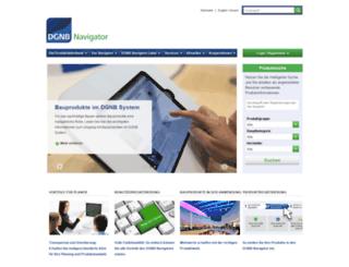 dgnb-navigator.de screenshot