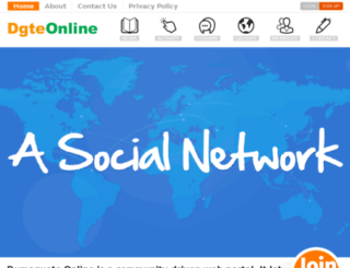 dgteonline.com screenshot