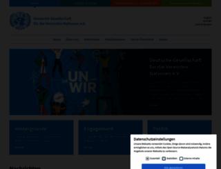 dgvn.de screenshot