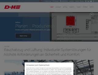 dh-partner.com screenshot