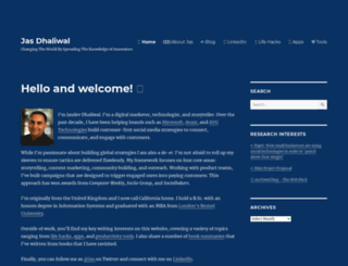 dhaliwal.com screenshot