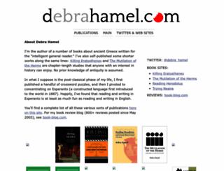 dhamel.typepad.com screenshot