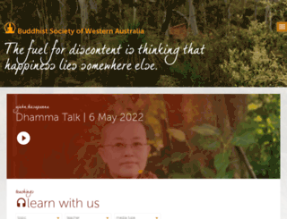 dhammaloka.org.au screenshot