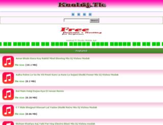 dhanbaddj.com screenshot