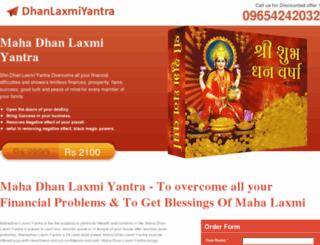 dhanlakshmiyantra.com screenshot