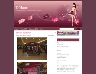 dhans-collection.blogspot.com screenshot