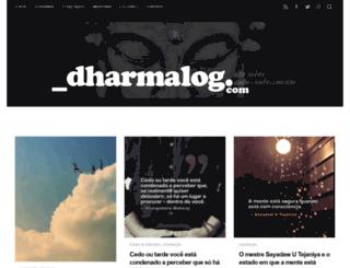 dharmalog.com screenshot