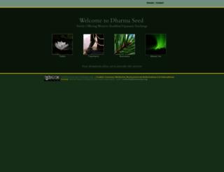 dharmaseed.org screenshot