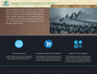 dhaslee.com screenshot