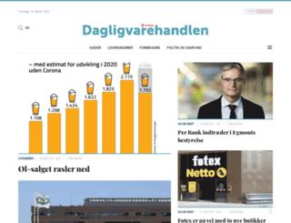 dhblad.dk screenshot
