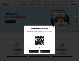 dhfl.com screenshot