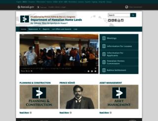 dhhl.hawaii.gov screenshot