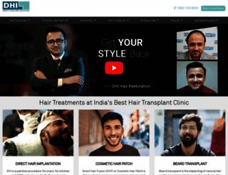dhiindia.com screenshot