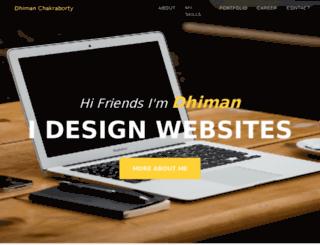 dhiman.orgfree.com screenshot