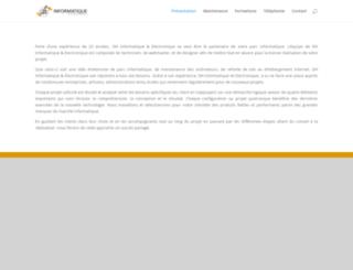 dhinformatique.fr screenshot