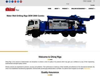 dhirajrigs.com screenshot