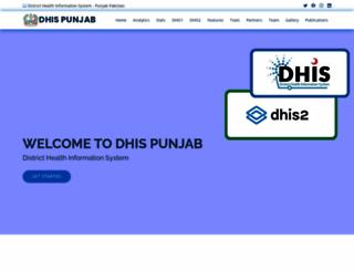 dhispb.com screenshot