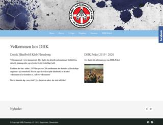 dhk-flensborg.de screenshot