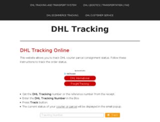 dhl-tracking.org screenshot