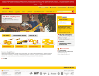 dhl.fi screenshot
