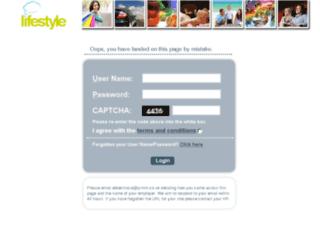 dhldsc.lifestylehub.co.uk screenshot