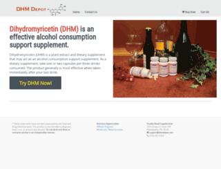dhmdepot.com screenshot