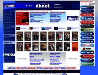dhnet.org.br screenshot