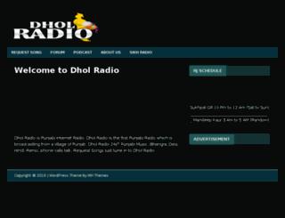 dholfm.com screenshot